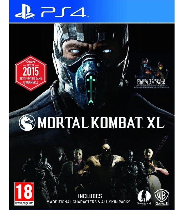 بازی Mortal Kombat XL مخصوص PS4