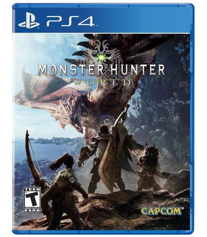 بازی Monster Hunter: World مخصوص PS4