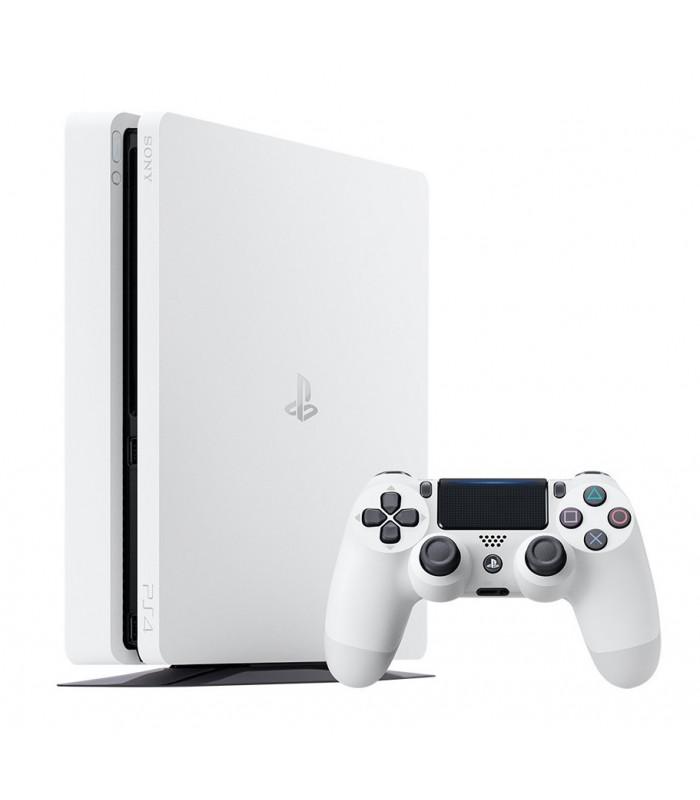 کنسول بازی سونی پلی استیشن PS4 Slim Glacier White- ظرفیت 500 گیگابایت | R2 | 2116A