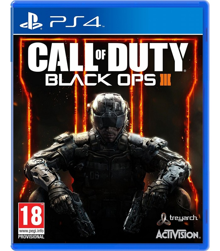 بازی کارکرده Call Of Duty: Black ops III مخوص PS4