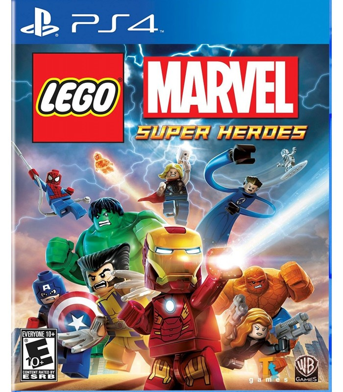 بازی کارکرده LEGO Marvel: Super Heroes مخصوص PS4