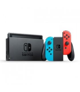 کنسول کارکرده نینتندو مدل Switch Neon Blue and Neon Red Joy-Con