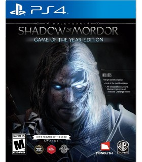 بازی کارکرده Middle-earth:Shadow Of Mordor Game Of The Year Edition مخصوص PS4