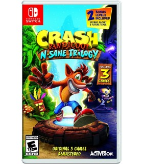 بازی Crash Bandicoot N.Sane Trilogy مخصوص Nintendo Switch