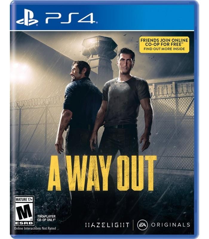 بازی Way Out مخصوص PS4