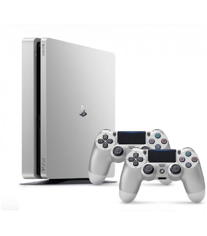 کنسول بازی سونی پلی استیشن PS4 Slim - ظرفیت 500 گیگابایت باندل دو دسته | R2 | 2016A