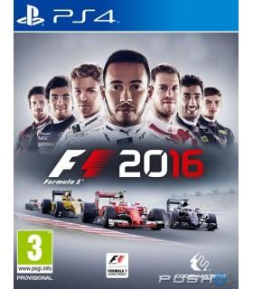 بازی کارکرده F1 2016 مخصوص PS4