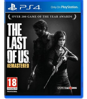 بازی کارکرده The Last Of Us Remastered مخصوص PS4