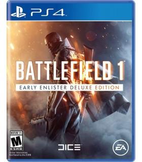 بازی کارکرده Battlefield 1 Deluxe Edition مخصوص PS4