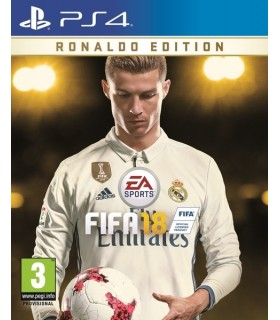 بازی کارکرده FIFA 18 مخصوص PS4 نسخه Ronaldo Edition