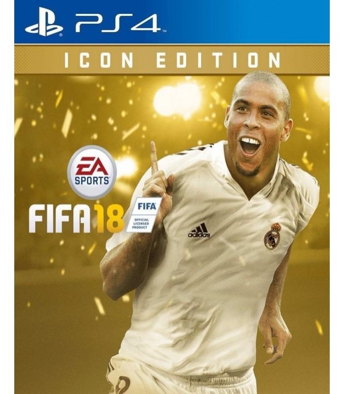 بازی FIFA 18 مخصوص PS4 نسخه Icon Edition