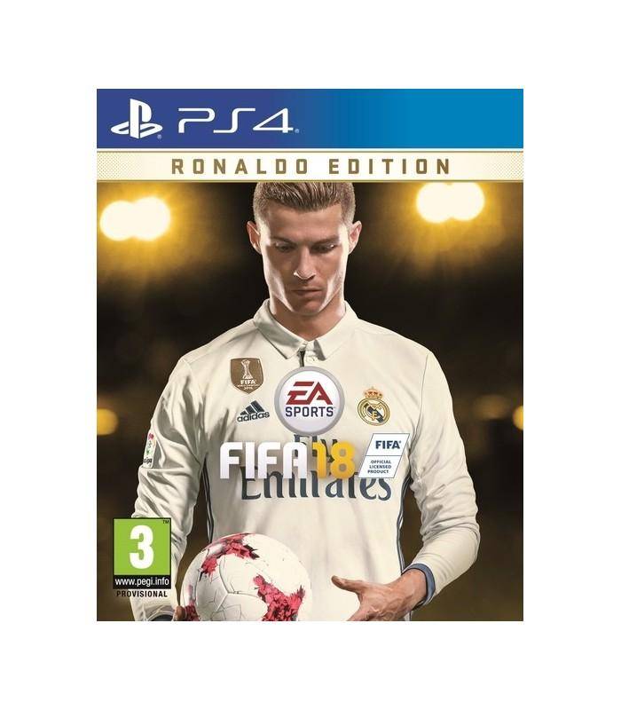 بازی FIFA 18 مخصوص PS4 نسخه Ronaldo Edition