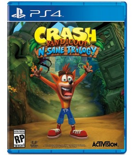 بازی Crash Bandicoot N. Sane Trilogy مخصوص PS4