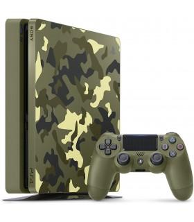 کنسول بازی سونی پلی استیشن PS4 Slim - ظرفیت 1 ترابایت باندل R2 - 2116B - Call Of Duty WWII