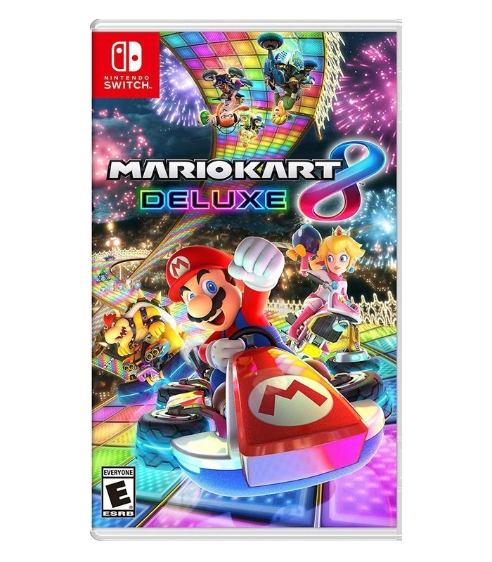 بازی Mario Kart Deluxe 8 مخصوص Nintendo Switch