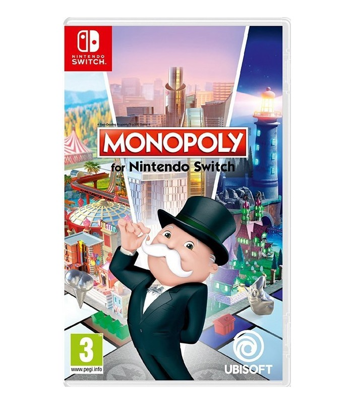 بازی Monopoly مخصوص Nintendo Switch