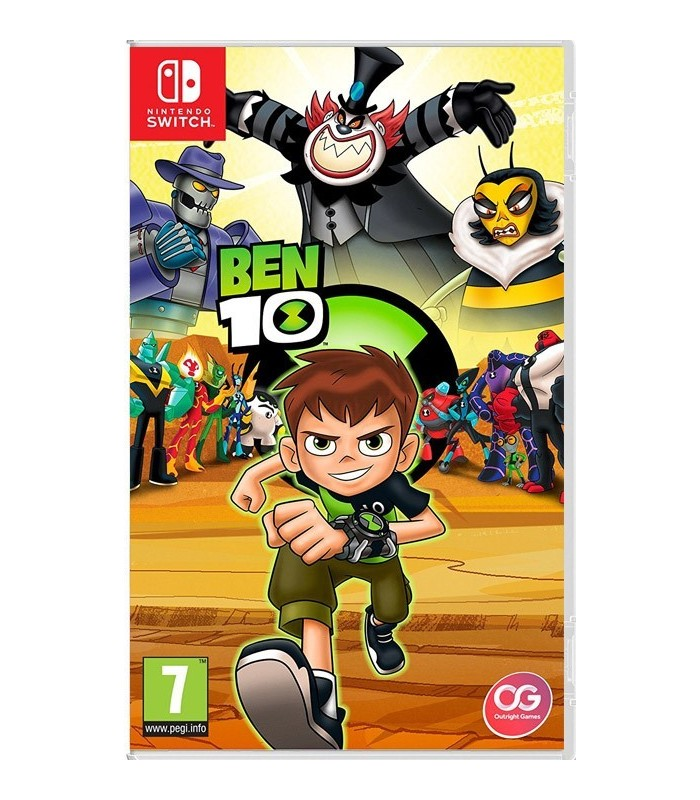 بازی Ben 10 مخصوص Nintendo Switch