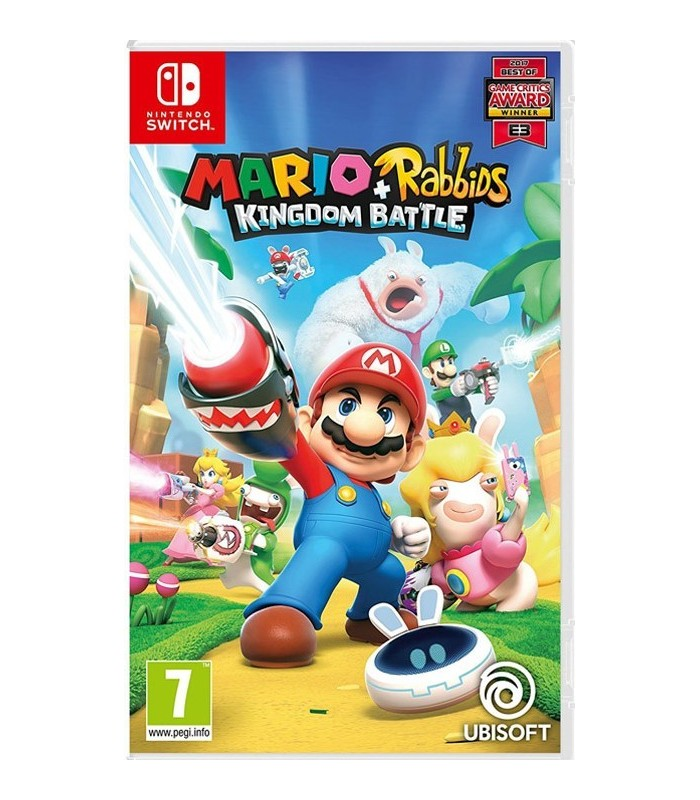 بازی Mario+Rabbids Kingdom Battle مخصوص Nintendo Switch