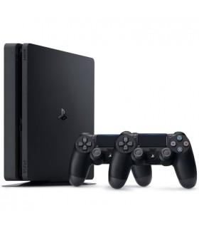 کنسول بازی سونی پلی استیشن PS4 Slim - ظرفیت 1 ترابایت باندل دو دسته - R2 - 2116B