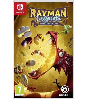 بازی Rayman legends:Definitive Edition مخصوص Nintendo Switch