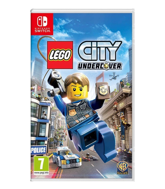 بازی Lego City Undercover مخصوص Nintendo Switch