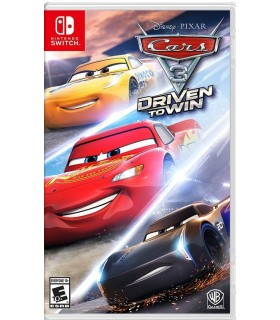 بازی Cars 3 Driven To Win مخصوص Nintendo Switch