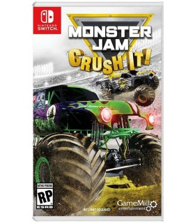 بازی Monster Jam Crush It مخصوص Nintendo Switch