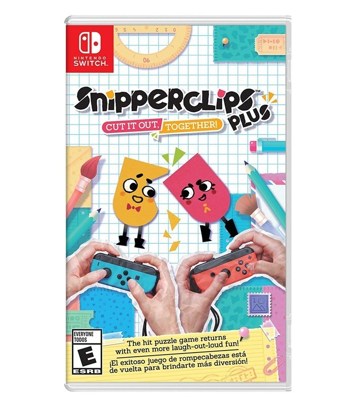بازی Snipperclips Plus:Cut It Out Together مخصوص Nintendo Switch