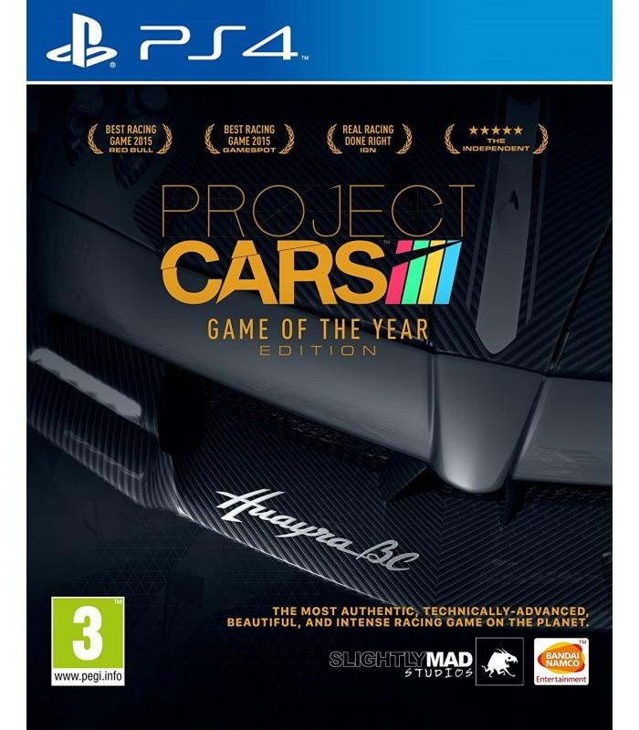 بازی Project Cars Game Of The Year Edition مخصوص PS4