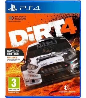 بازی DiRT 4 مخصوص PS4