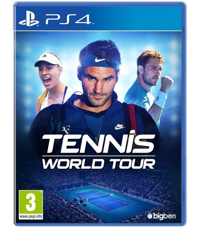 بازی Tennis World Tour مخصوص PS4